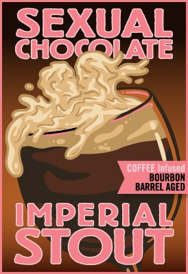 Bourbon Barrel Aged Sexual Chocolate