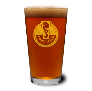 Foothills Pint Glass