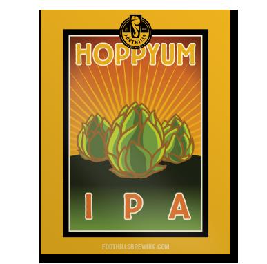 Hoppyum IPA Poster
