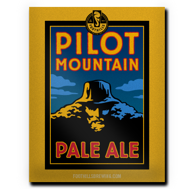 Pilot Mountain Pale Ale Poster