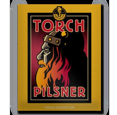 Torch Pilsner Poster