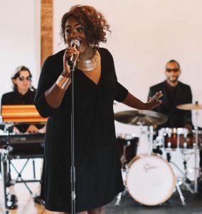 Souljam Trio plays live in downtown winston salem