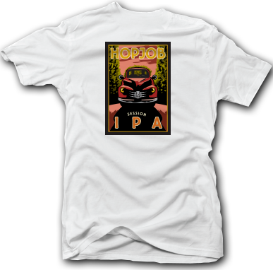 HopJob Session IPA Tee