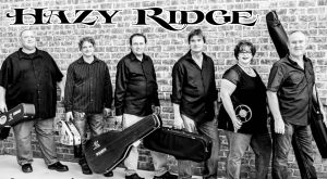 Hazy Ridge Bluegrass band at Foothills Brewpub