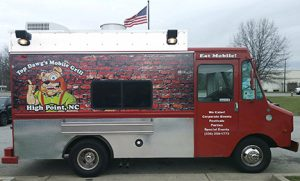 Top Dawg's Food Truck at the Foothills Brewing Tasting Room