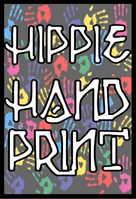 Hippie Handprint