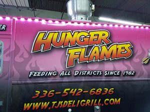 Hunger Flames Food Truck at Foothills Tasting Room