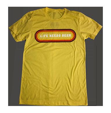 Life Needs Beer Tee