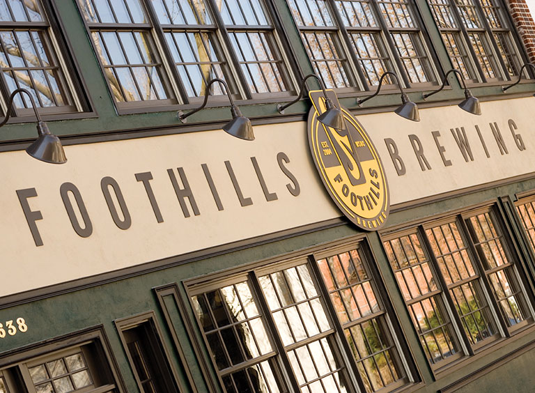 Foothills Brewing Brewing Craft Beer In Winston Salem